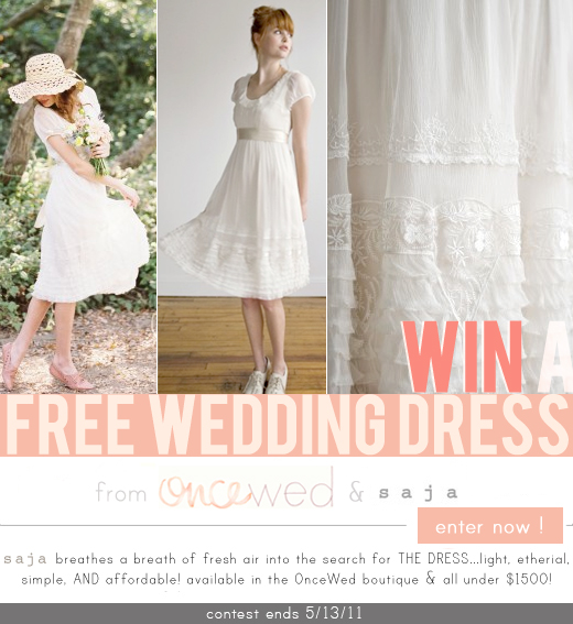 Free Saja Wedding Dress!